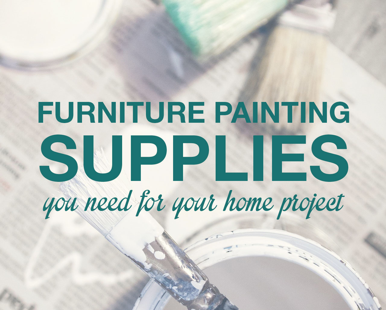 furniture painting supplies