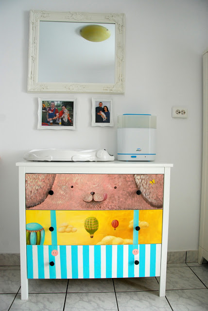 baby nursery decor idea