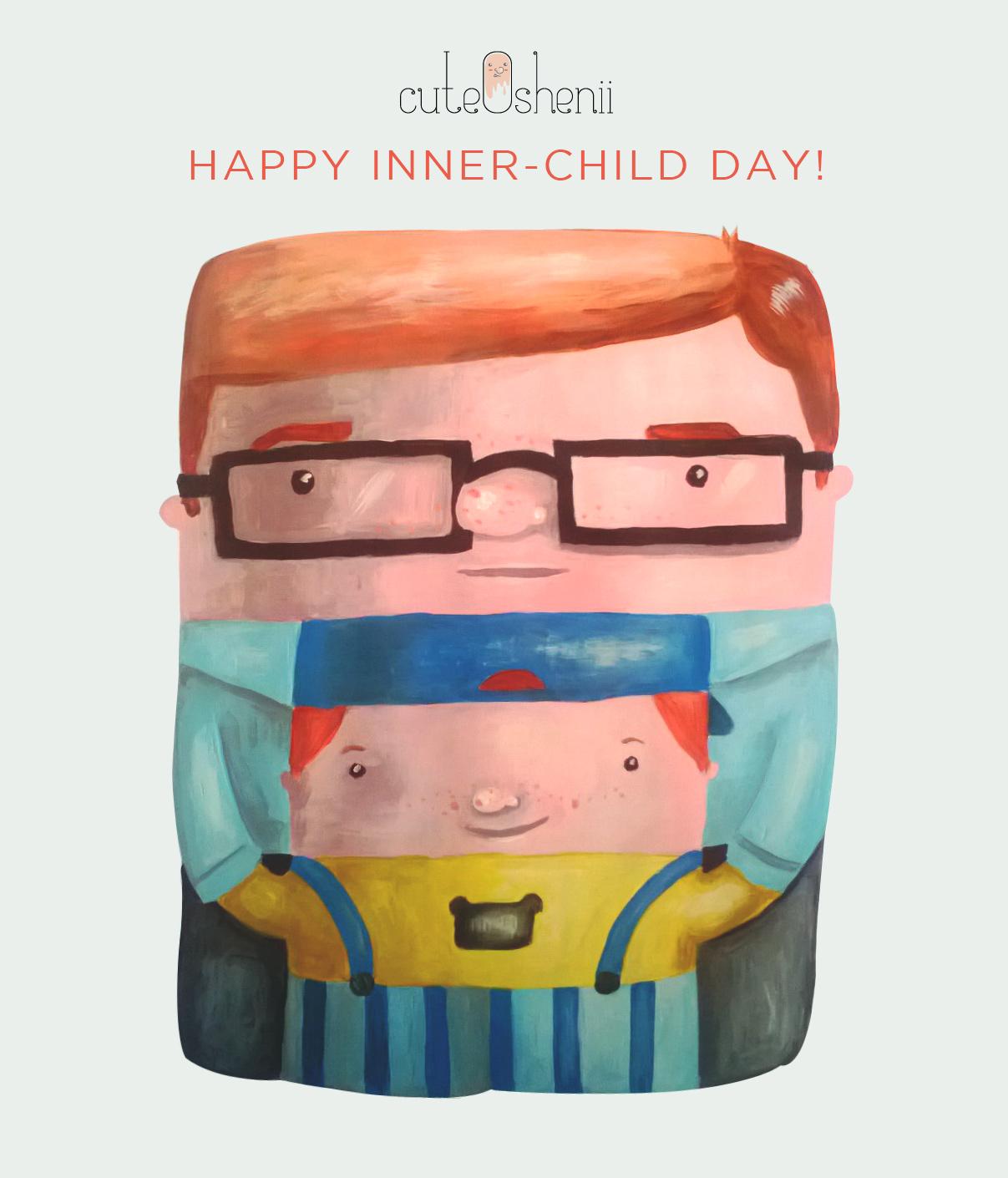 children's day ecard illustration