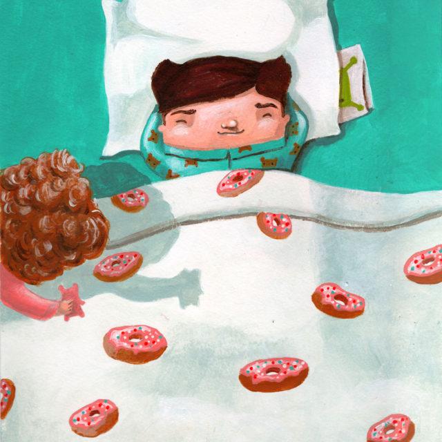 illustration children's book teddy b andra badea cuteoshenii