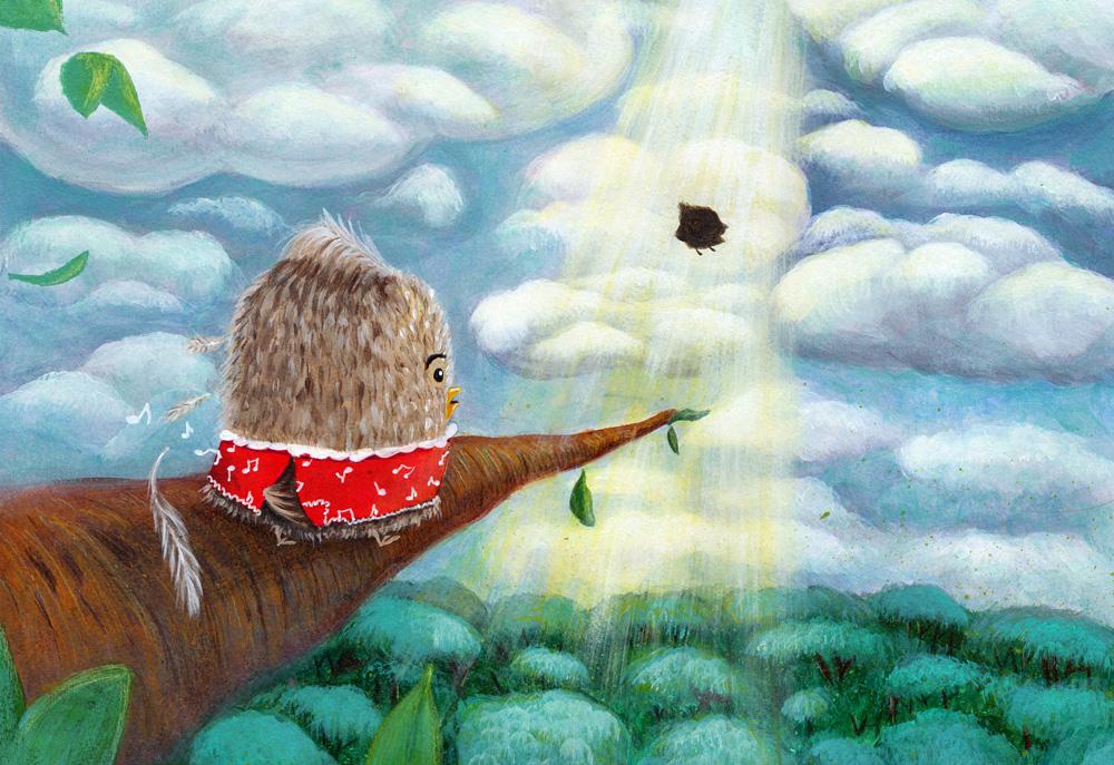 illustration povestile cristinei Tup picturebook cuteoshenii andra badea