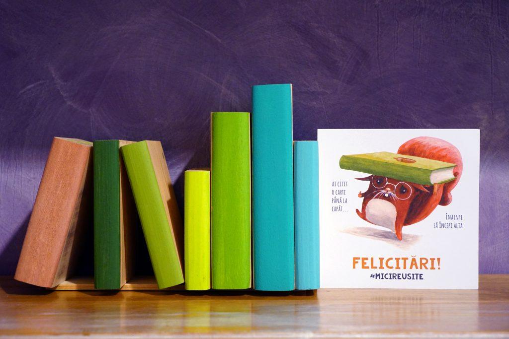 funny card reading books cuteoshenii andra badea mici reusite carturesti