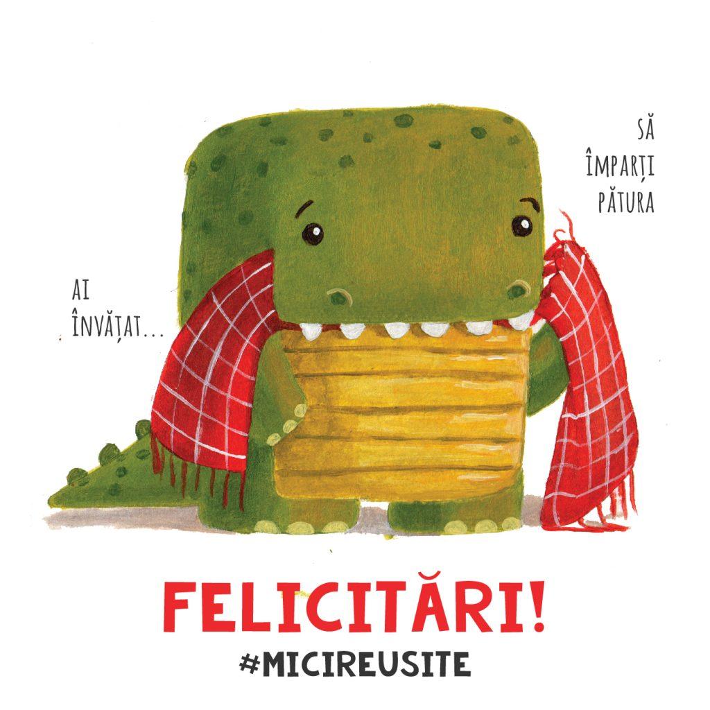 crocodile blanket share couple humor valentines day love mici reusite cards carturesti