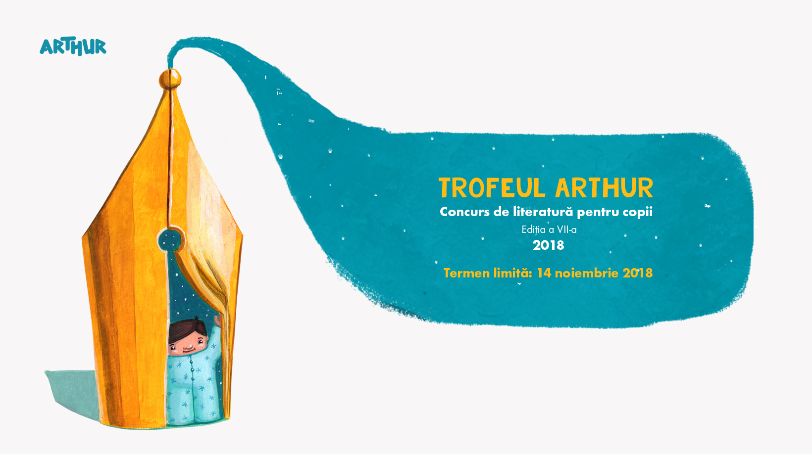 arthur writing contest illustration children publishing house trofeul arthur andra badea cuteoshenii